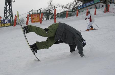 snowboard injury