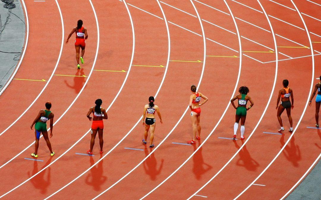 athletics race start line