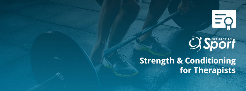 Strength & Conditioning For Therapists